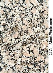pulido, primer plano, marco completo, superficie, negro, granito, blanco