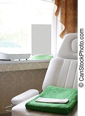 pulito, europeo, massaggio, stanza