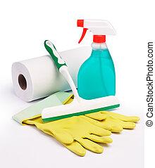 pulizia finestra, apparecchiatura