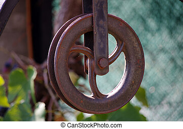 Pulley well