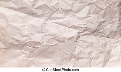 Pulp Paper Crumpled Texture