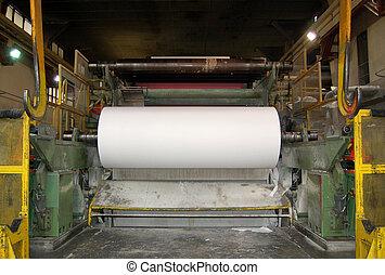 pulpe, moulin papier