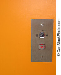 pulsador, elevador