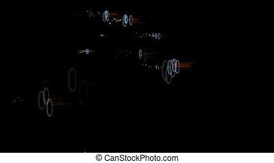 Pulsating Lights