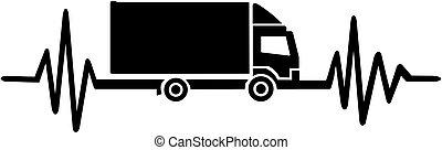 pulsation, camion