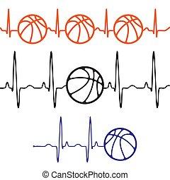 Pulse basketball set differentt colors