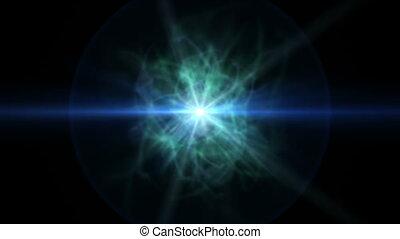 pulse star abstract