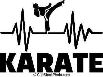 pulso, karate, latido del corazón