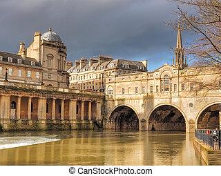 Pulteney Bridge Bath England