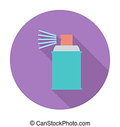 pulvérisation, chemicals.