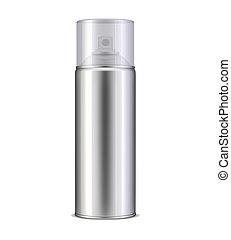 pulverizador, aluminio