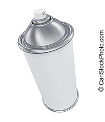 pulverizador, blanco