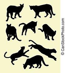 Puma silhouettes 02.