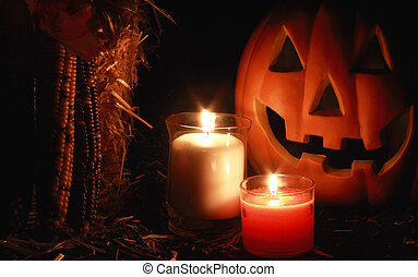 Pumkin and Candle