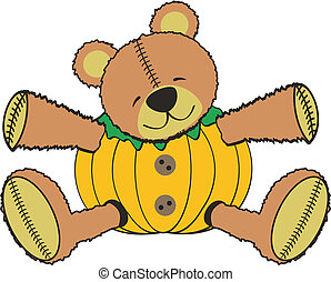 pumkin, teddy