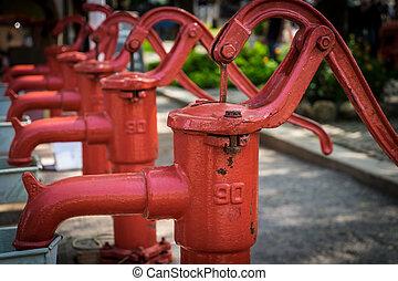 pump., рука