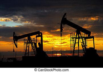 pump., 産業, オイル, 装置