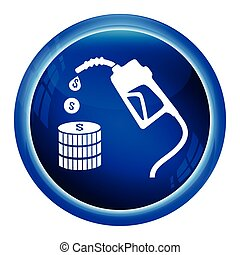 pump, bensin, ikon