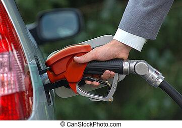 pump, drivmedel