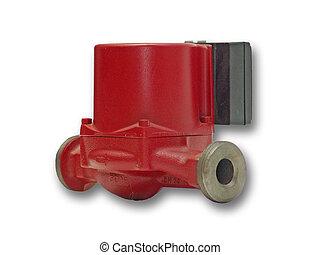 Pump - Flowing water pump for hot water. Used in heating...