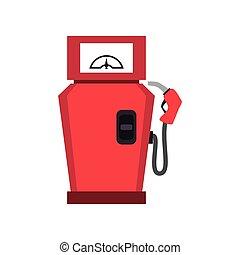 pump gas station