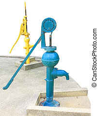 pump groundwater