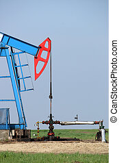Pump jack and oil pipeline industry