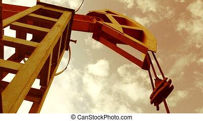 Pump jack - iconic symbol of oilfield