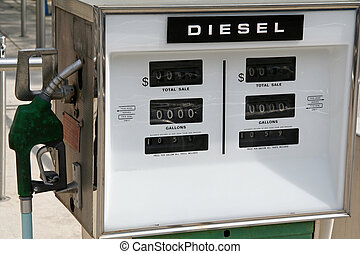 pump, station, gas