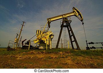 pumpa, ipari, olaj