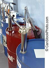 pumpa, nafta, bok