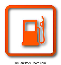 pumpe, gas, ikone