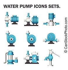 pumpe, ikone