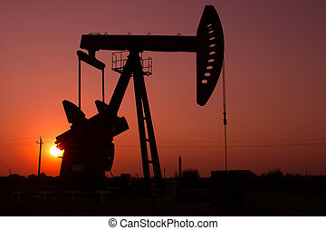 pumpe, silhouette, wagenheber
