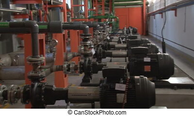 Pumping station on the production of coke and chemical