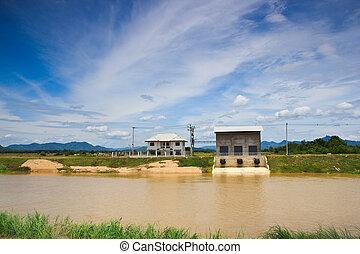 Pumping station