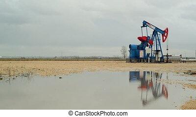 Pumpjack Oil Pump