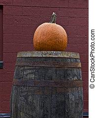 Pumpkin, Barrel