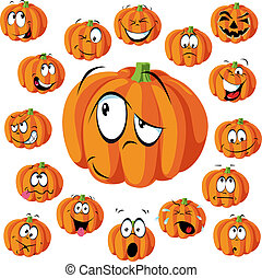 pumpkin cartoon