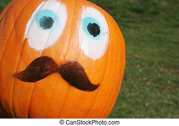 Pumpkin face!