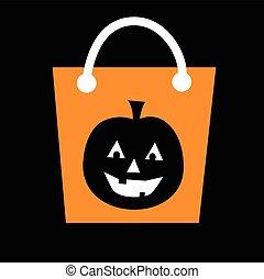 Pumpkin Halloween Bag