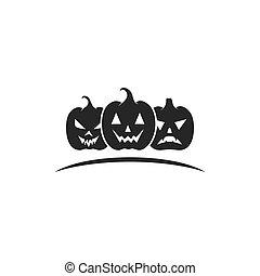 Pumpkin happy helloween character