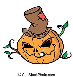pumpkin head 1