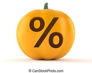 pumpkin, hos, cents per, symbol