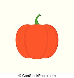 Pumpkin icon on white background for graphic and web design, Modern simple vector sign. Internet concept. Trendy symbol for website design web button or mobile app.