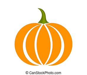 Pumpkin icon symbol