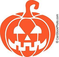 Pumpkin jack o lantern