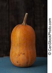 Pumpkin on a table