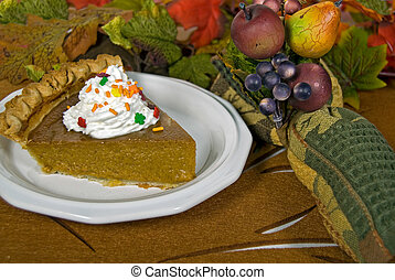 Pumpkin Pie Plate