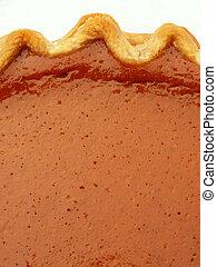 pie - pumpkin pie with crust